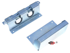 Powder coated, accomodates both foot systems – 2″ x 4″ and 4″ x 4″.