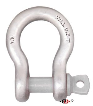 7/8″ 9.5 Ton Forged Anchor Shackle with Forged Screw Pin