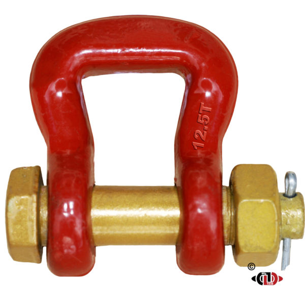 12.5 Ton Web & RoundSling All Forged Shackle & Bolt