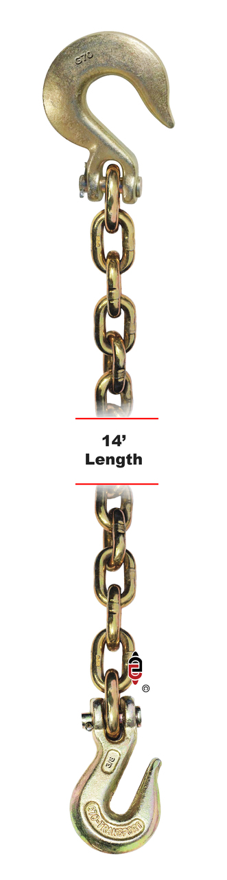 G7 Chain with Clevis Grab and Slip Hook
