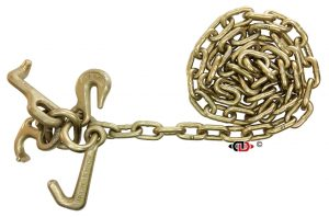 6 Ft. G70 Chain Assembly w/ RTJG Hook Cluster