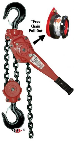 6 Ton DuraLift Lever Hoist with 10 Foot Lift