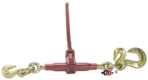 (DR) Specialty Pro-Bind Series Ratchet Binder, with 3/8″ Grab Hook on One End and 1/2″ Slip Hook on Other End.