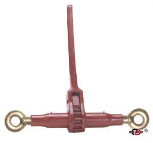 (DR) Specialty Pro-Bind Series – Ratchet Binder with Eye – Eye – 10″ Barrel – 1″ Screw Diameter. The Pro's Workhorse, heavy 1″ diameter ACME screw, Specialty End Fittings.
