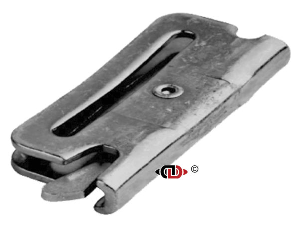 2″ Silver Logisitic Strap EA Spring End Fitting.