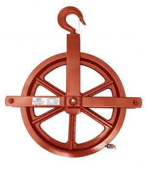 12″ Gin Wheel with Forged Hooks GW-12