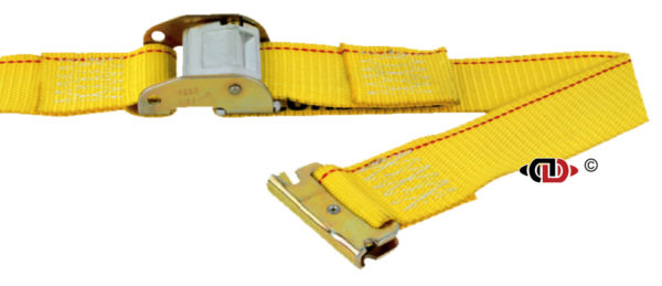 Logistic Strap with Cam Buckle and EA fittings, Short End is 48″.