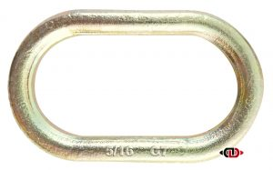 G-70 5/16″ Oblong Link – Formed for Welding, 3/4″ x 3-1/2″ x 1-5/8″ – NO OVERHEAD LIFTING.