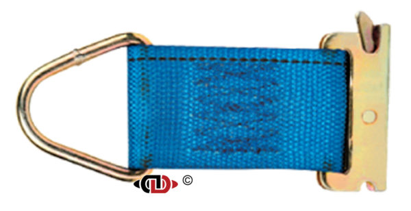 """2"""" x 6"""" Rope Tie-Off with EA Spring End Fitting RTO-2-6-EA"""