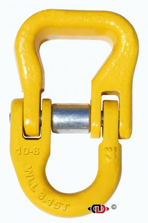 G-80 3/8″ Forged and Load Rated Web Sling Connector.
