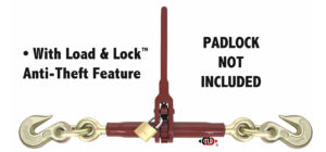 "(LDR) Light Pro-Bind Series - Lighter Duty Ratchet Binder - 7/8"" Screw Diameter LDR-12-10+"