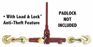 "(LDR) Light Pro-Bind Series - Lighter Duty Ratchet Binder - 7/8"" Screw Diameter LDR-38-10+"