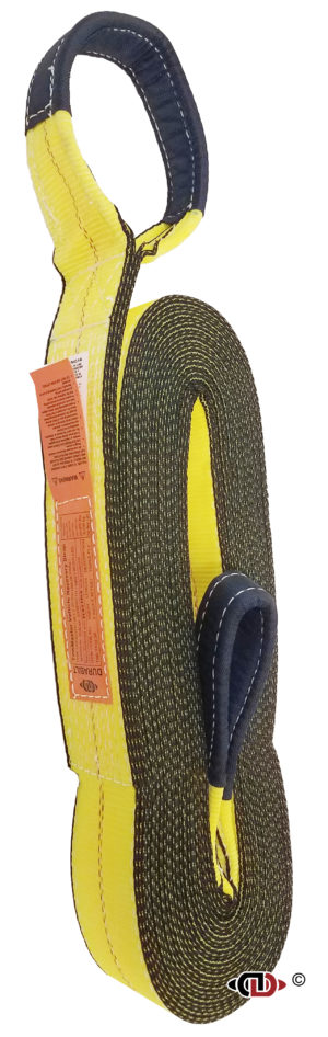 "3 Ply - 3"" x 30' Vehicle Recovery Tow Strap TSR-3x30-3P"