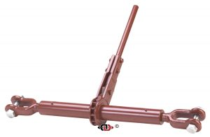 "(CDR) Specialty Compactor Series - Ratchet Binder with Jaw - Jaw + 1-3/4"" Screw Diameter CDR-24-134-J-J"