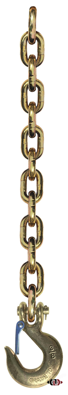 """3/8"""" x 6' G70 Trailer Safety Chain"""