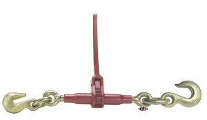 "(DR) Specialty Pro-Bind Series Ratchet Binder with 3/8"" Grab Hook One End and 1/2"" Slip Hook Other End DR-1-SLP"