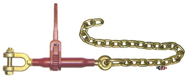 "(DR-SJ) Specialty Pro-Bind Series - Ratchet Binder with 3/8"" x 32"" G7 Chain - Swivel Jaw DR-C-SJ"