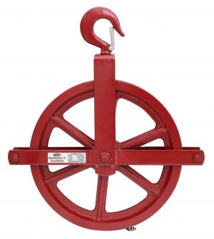 """12"""" Gin Wheel with Forged Hooks GW-12"""
