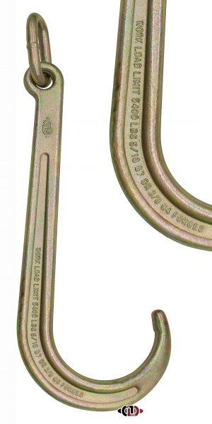 """G43-G70 15"""" Eye Tow Hook with Link: HKTOW-J15-EL"""