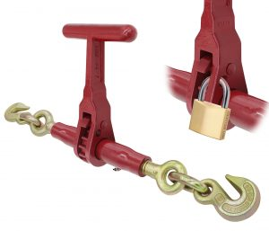 "(LDR-T) Specialty T-Handle Series - Ratchet Binder with 3/8"" Grab Hook - 3/8"" Grab Hook LDR-38-T"
