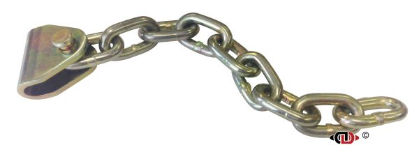 Ratchet Buckle Chain Tail with U-Shaped Adapter