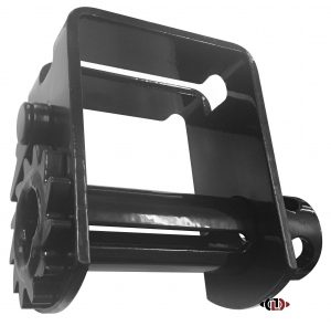 Slide, Fits Transcraft Trailers, Double L Track WB-SPCL-T-SLD
