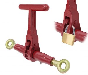 (LDR-T) Specialty T-Handle Series – Ratchet Binder with Eye & Eye - WLL 12,000 Lb. LDR-T-EE