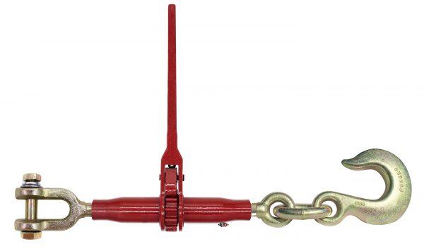 "(DR) Specialty Pro-Bind Series - Ratchet Binder with Jaw & 5/8 Slip Hook - 10"" Barrel - 1"" Screw Diam. DR-J-SLP"